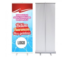 Bilim Fuarı 85x200 cm Roll Up Banner 7