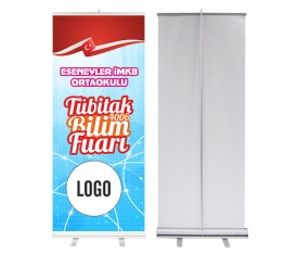 Bilim Fuarı 85x200 cm Roll Up Banner 8